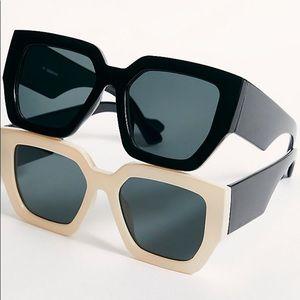 Freepeople Bel Air Cream Sunglasses